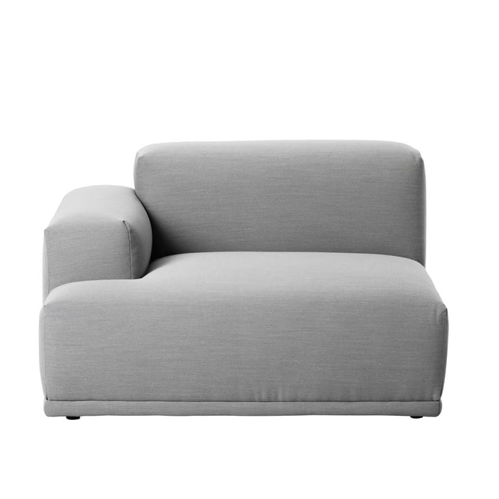 Muuto - Connect Sofa, Eckelement, Armlehne links, Remix 123