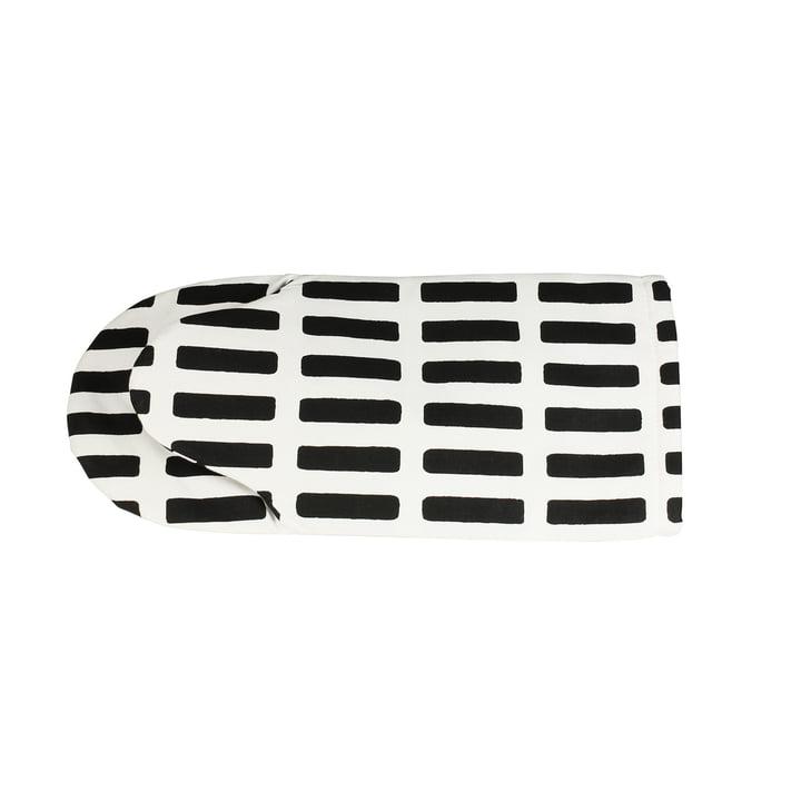 Artek - Siena Ofenhandschuh, weiß/ schwarz