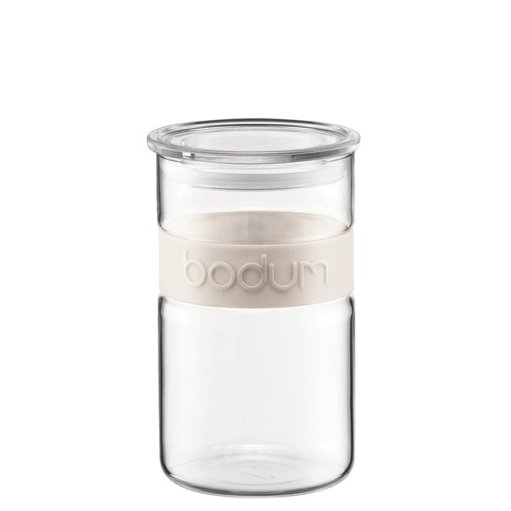Bodum - Presso Vorratsglas, 1 l, creme