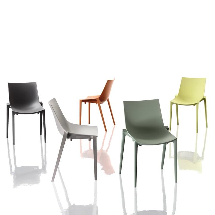 Magis - Zartan Stuhl Basic - Gruppe, alle Farben
