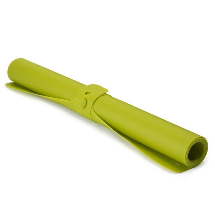 Joseph Joseph - Roll-up Backmatte, grün - gerollt