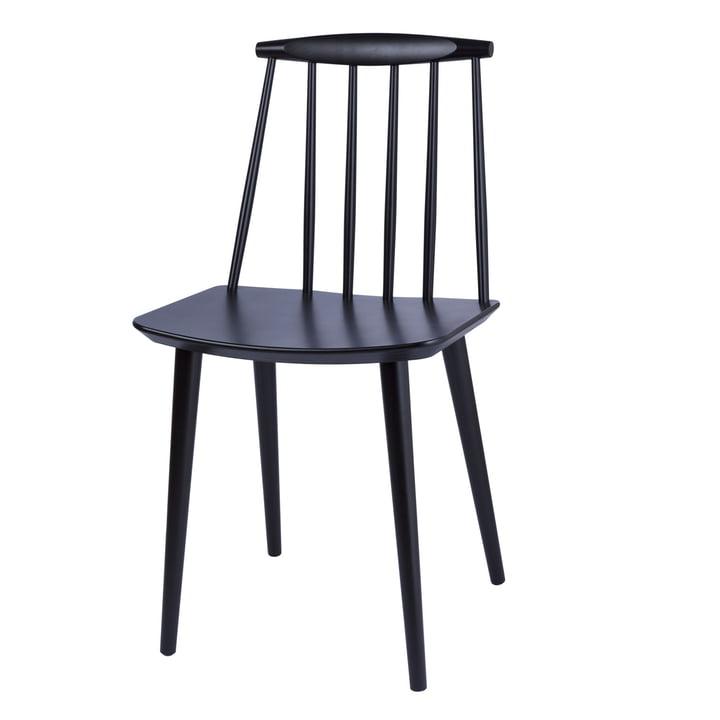 J77 Chair von Hay in schwarz