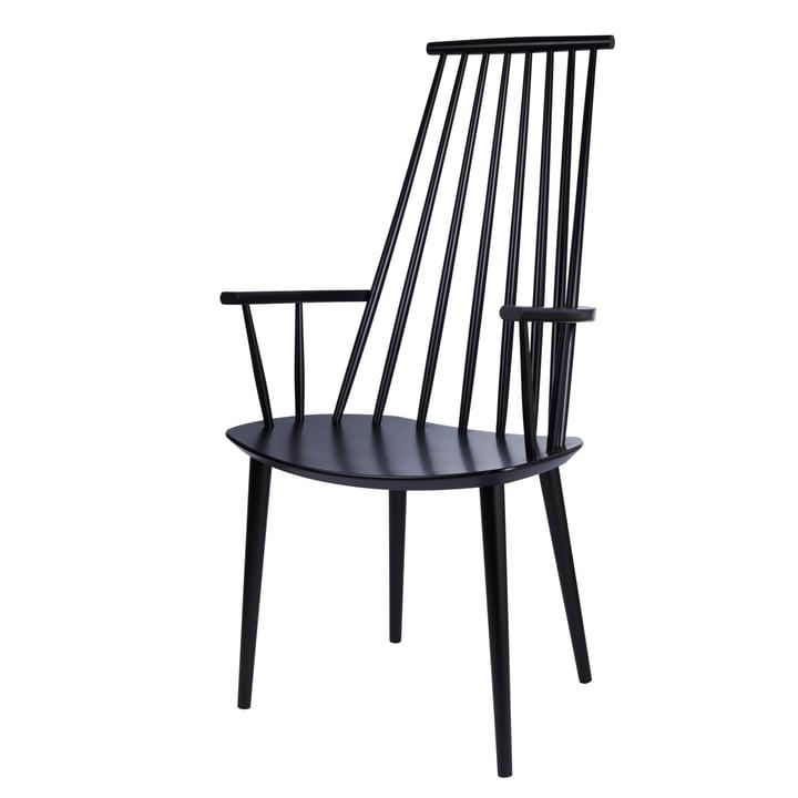 J110 Chair von Hay in schwarz