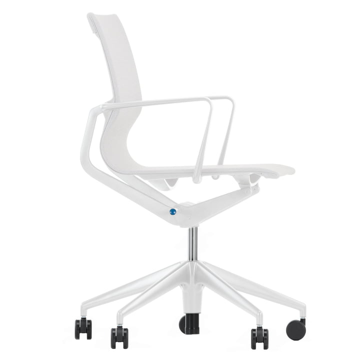 Physix Bürodrehstuhl von Vitra - silber / soft grey
