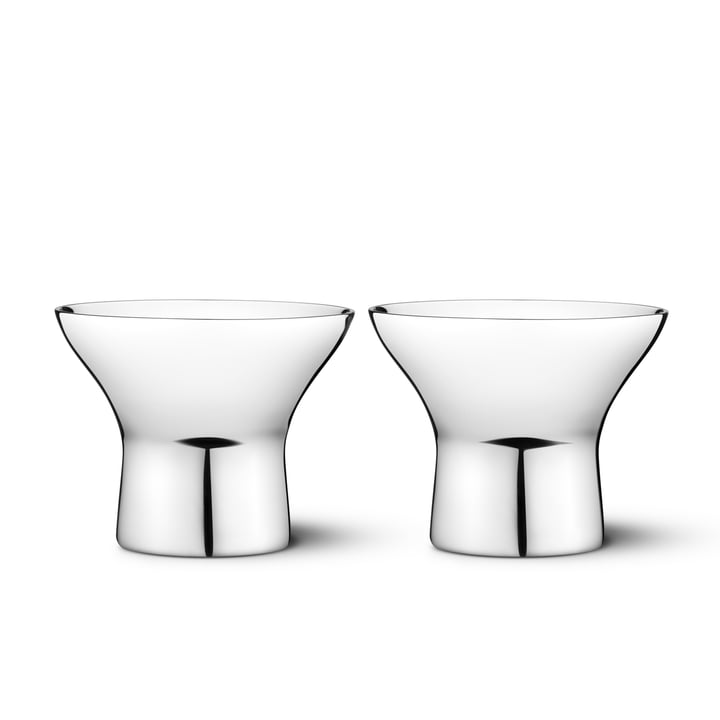 Georg Jensen - Alfredo Eierbecher, 2er-Set
