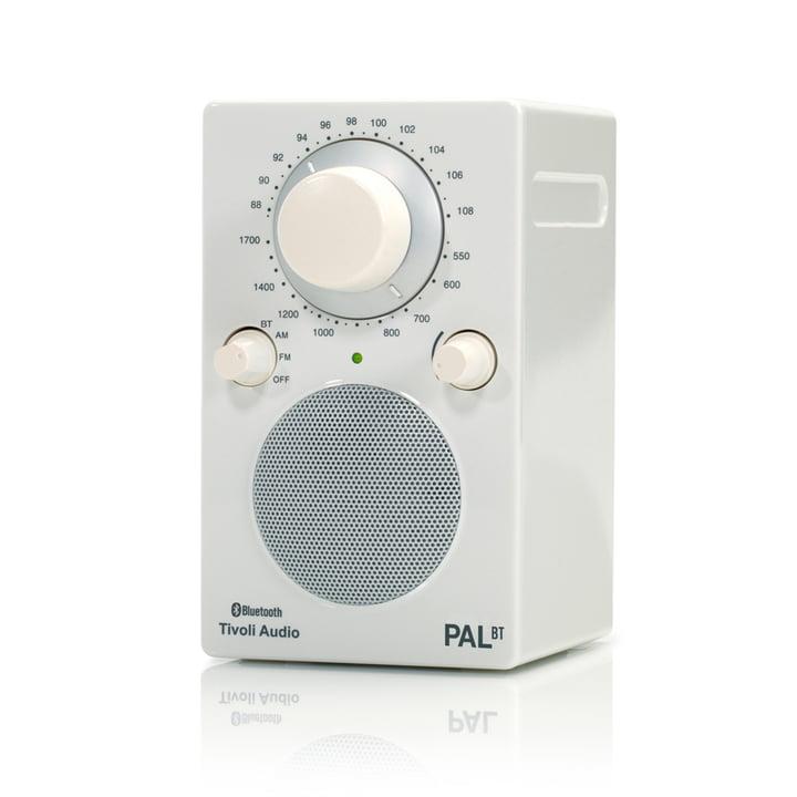 PAL BT Bluetooth Lautsprecher von Tivoli Audio in weiß / weiß