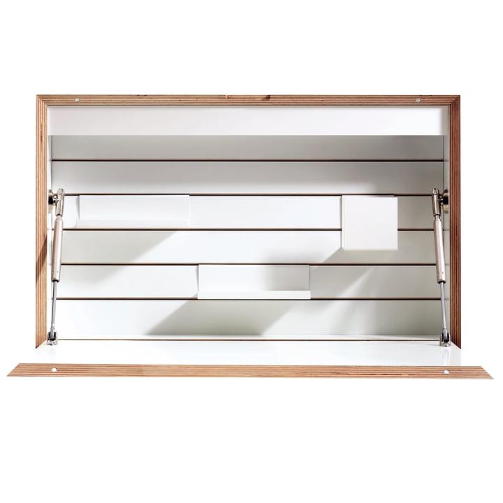 Müller Möbelwerkstätten - Flatbox Sekretär, weiß
