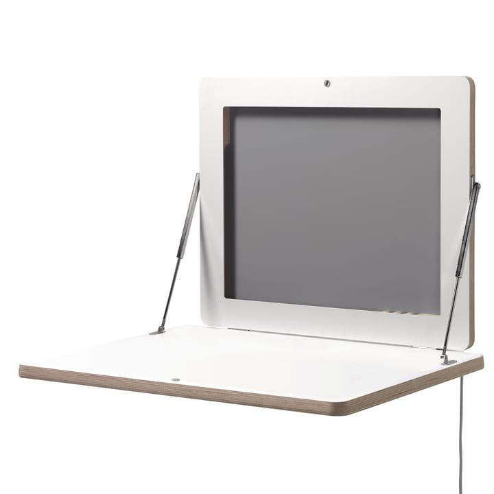 Müller Möbelwerkstätten - Workframe, weiß - offen