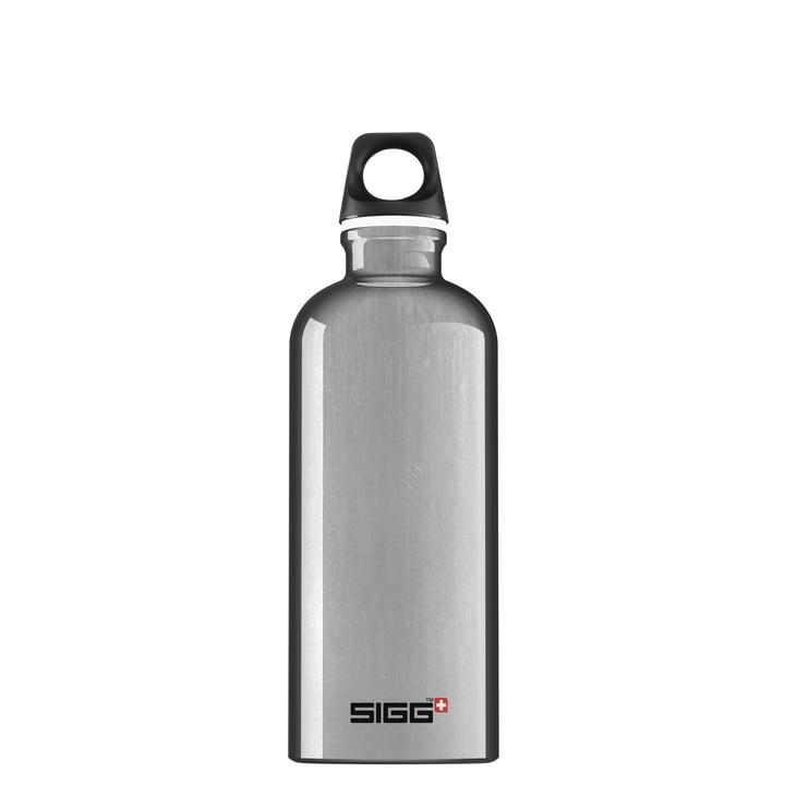 Traveller Trinkflasche 0,6 l von Sigg in alusilber