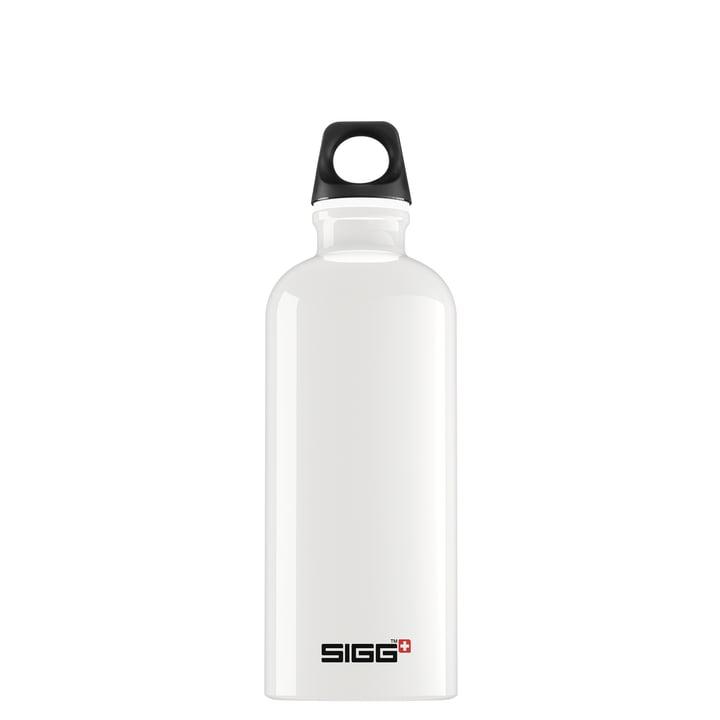 Traveller Trinkflasche 0,6 l von Sigg in weiß