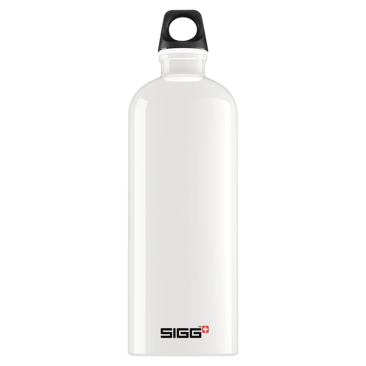 SIGG - Traveller Bottle, 1,0 l, weiß