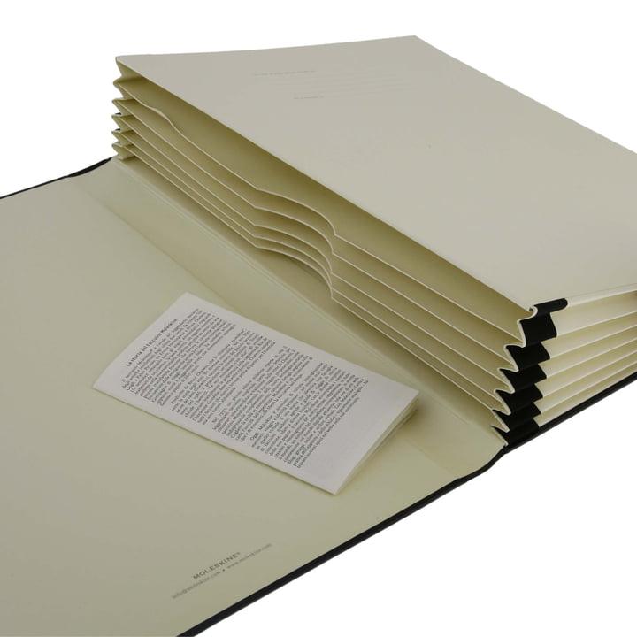 Moleskine - Portfolio A4 - Fächer