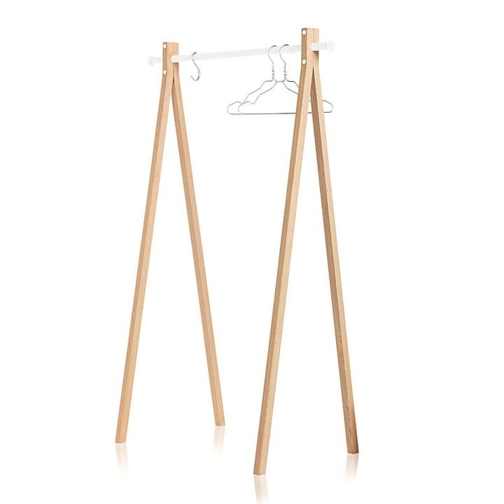 Nomess - Dress-Up Garderobenständer, weiß, 90 cm