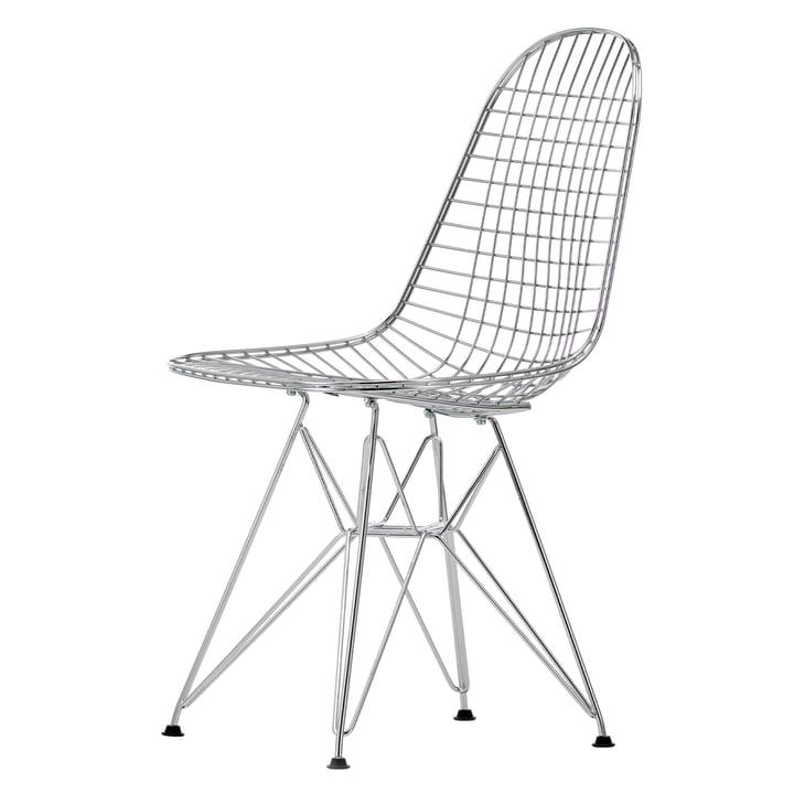 Vitra - Wire Chair DKR, verchromt