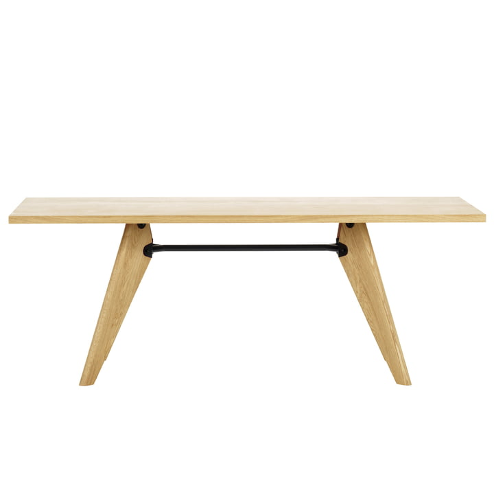 Table Solvay 180 cm von Vitra in Eiche natur