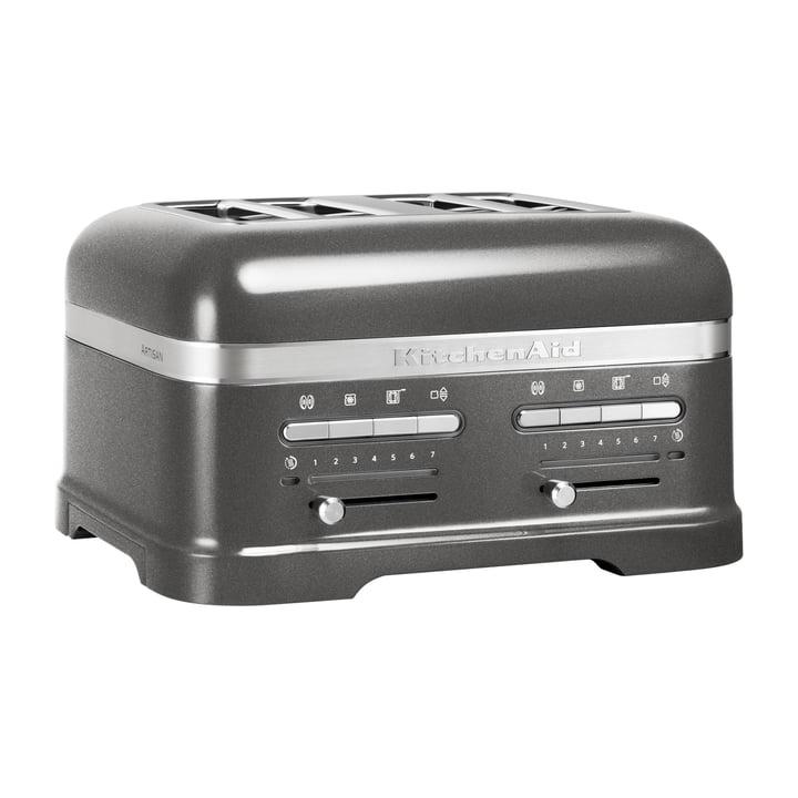 KitchenAid - Artisan Toaster 5KMT, 4 Scheiben, medallion silber