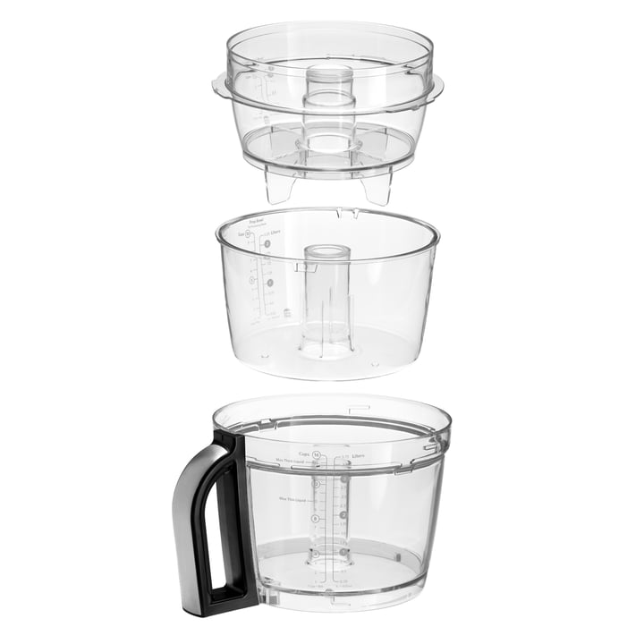 Der KitchenAid - Artisan Food Processor, 4,0 L - Schüsseln