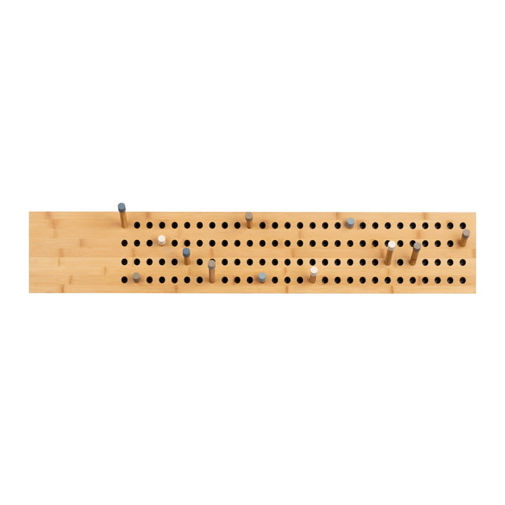 We do wood - Scoreboard Garderobe horizontal, Bambus natur