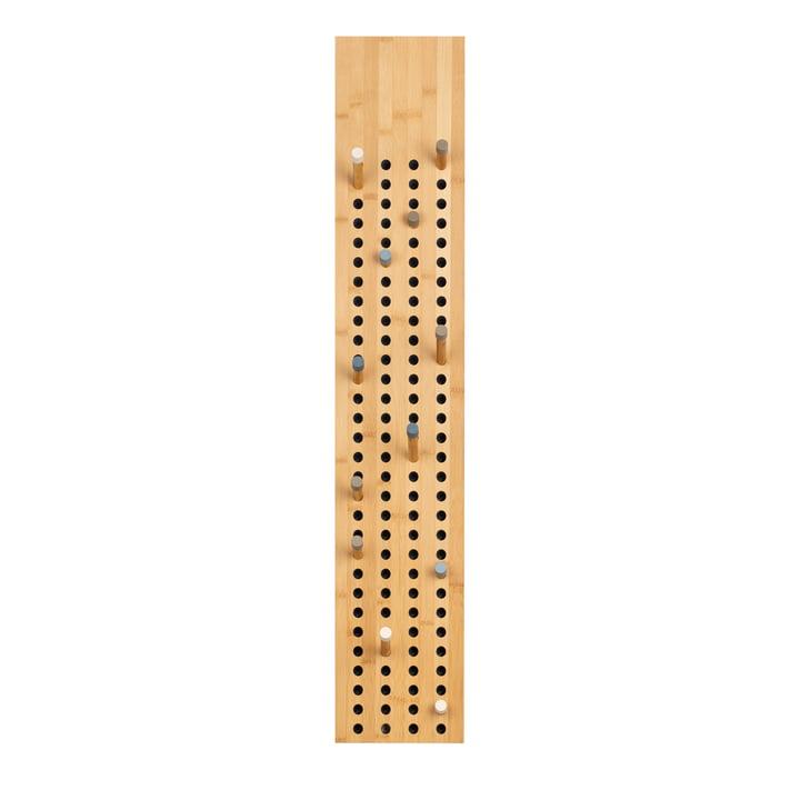 We do wood - Scoreboard Garderobe vertikal, Bambus natur