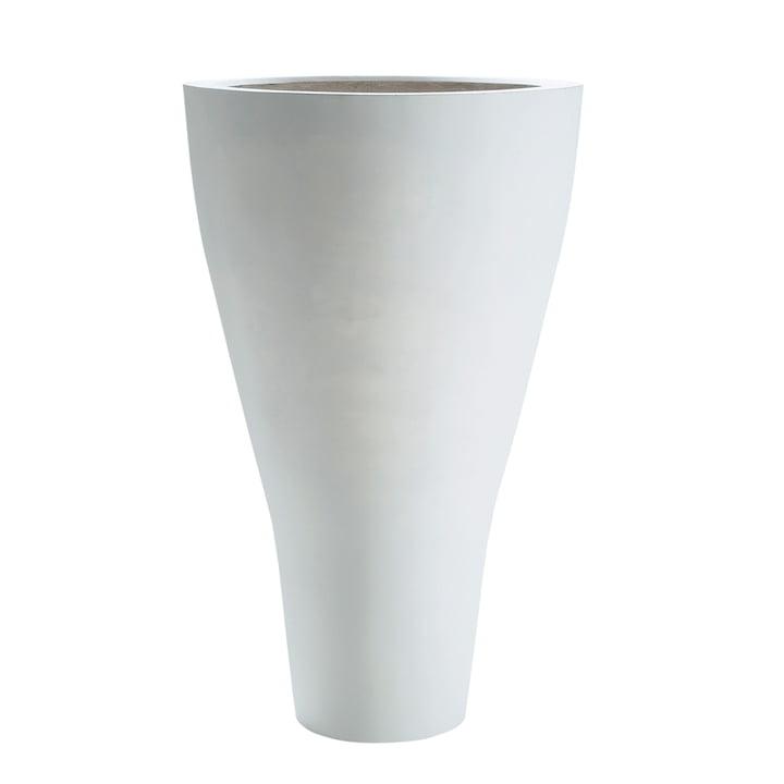 Amei - der Konische Pflanzbehälter, XXL, weiß
