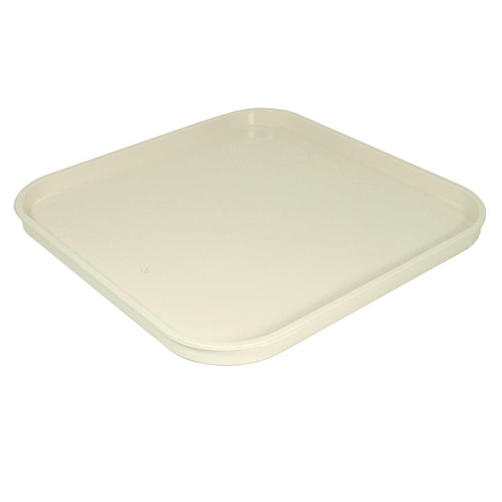 Kartell - Componibili Tablett, quadratisch, weiß