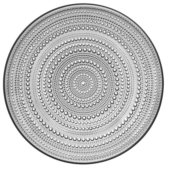 Kastehelmi Teller Ø 31,5 cm von Iittala in Grau