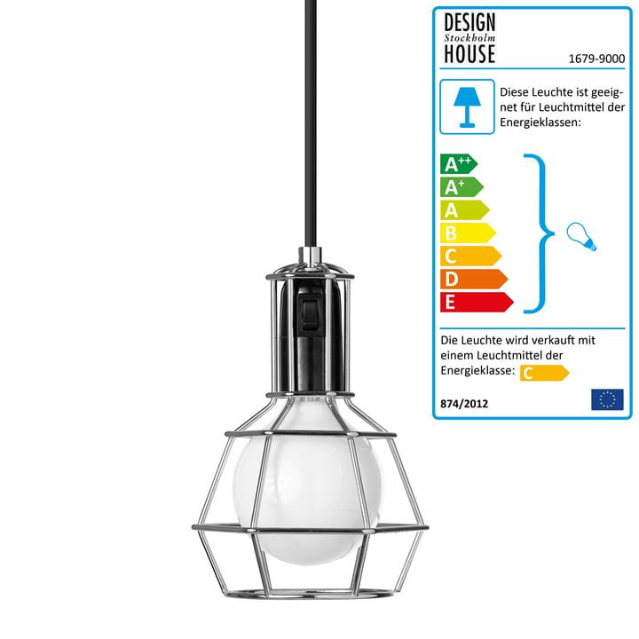 Design House Stockholm - Work Lamp, silber