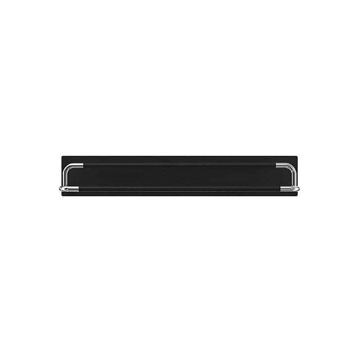 Frost, Rada Schuhregal - schwarz frontal, 60 cm