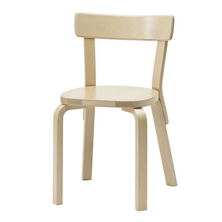 Artek - Chair 69, Birke, ungepolstert