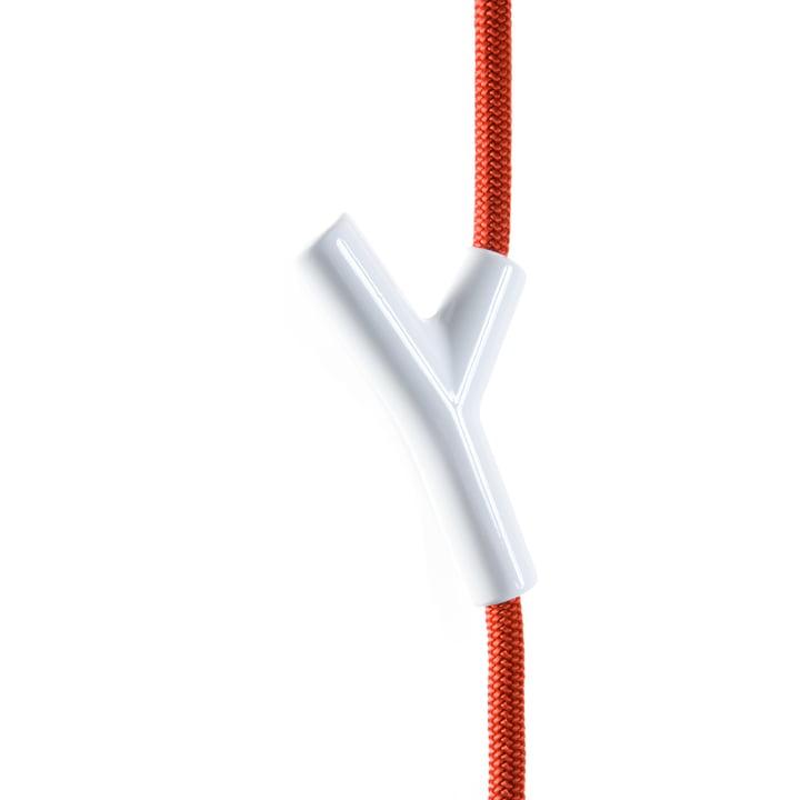 Wardrope Garderobenseil von Depot4Design in rot / weiß