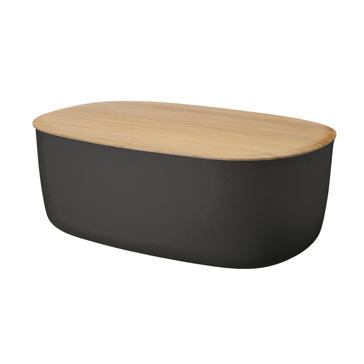 Box-It Brotkasten von Rig-Tig by Stelton in Schwarz