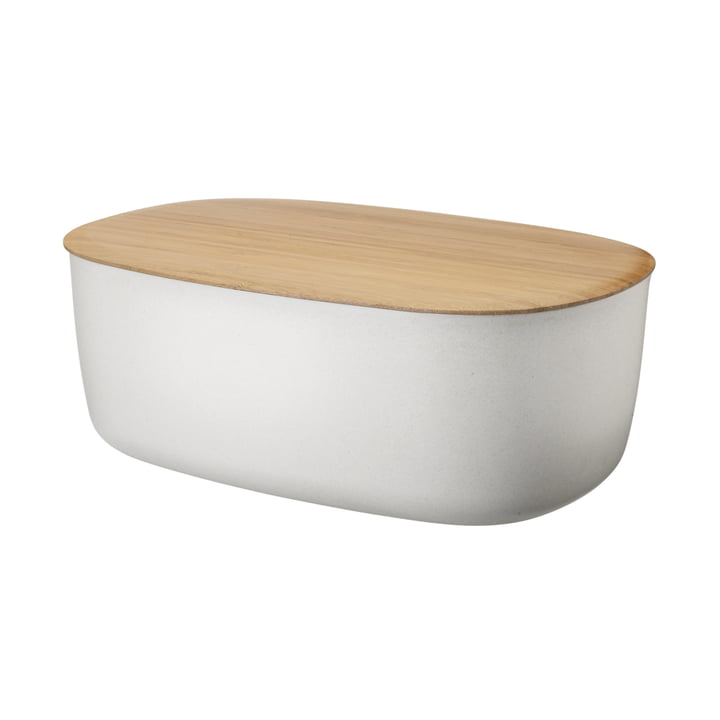 Box-It Brotkasten von Rig-Tig by Stelton in Nature White