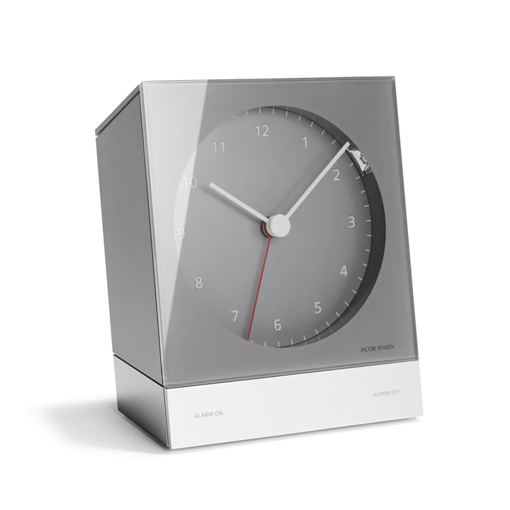Jacob Jensen - Alarm Clock Series Quartz 340, grau