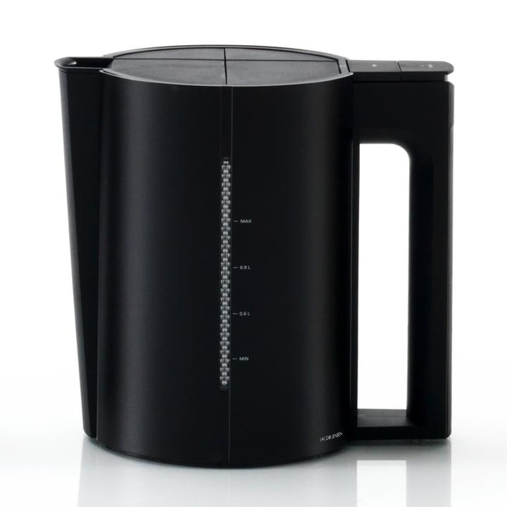 Wasserkocher, 1,2 L, Alu mattschwarz von Jacob Jensen
