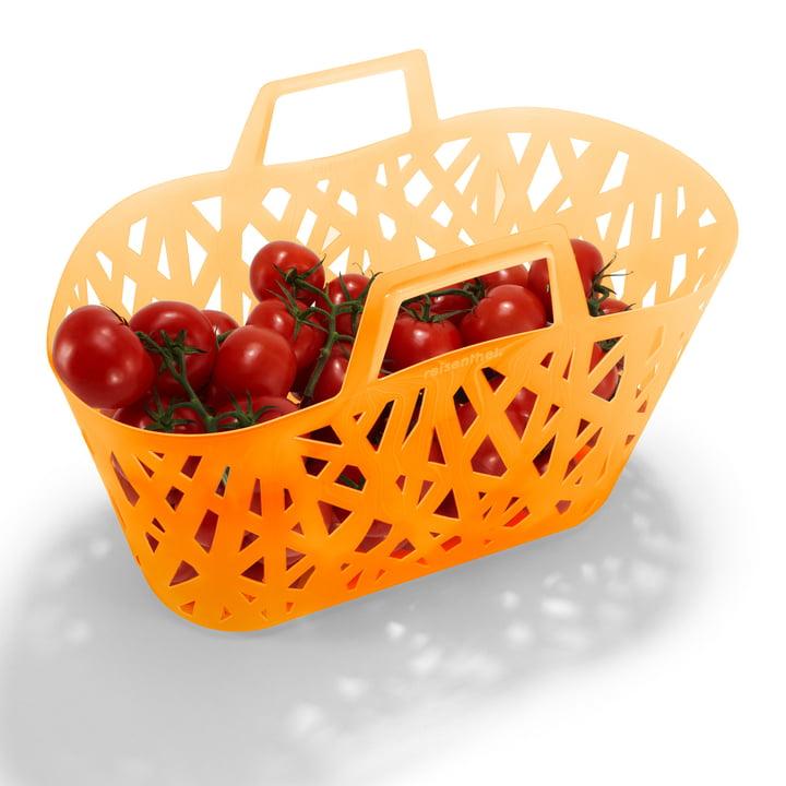 nestbasket von reisenthel mit Tomaten