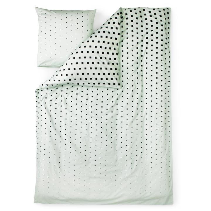 Normann Copenhagen - Cube Bettwäsche, Mint / Freisteller