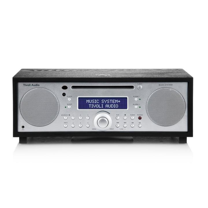 Tivoli Audio - Music System+ BT, schwraz / silber