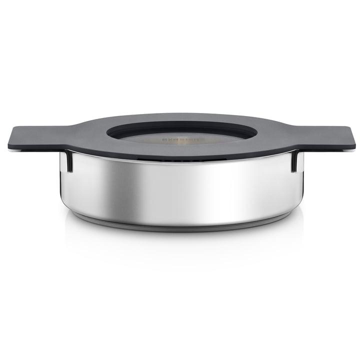 Gravity niedriger Topf Ø 24 cm von Eva Solo mit Deckel in Grau