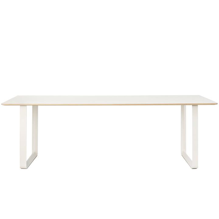 70/70 Esstisch, 225 x 90 cm von Muuto in weiß (Laminat)