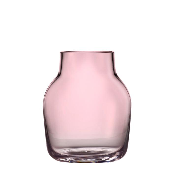 Silent Vase klein von Muuto in Rosa