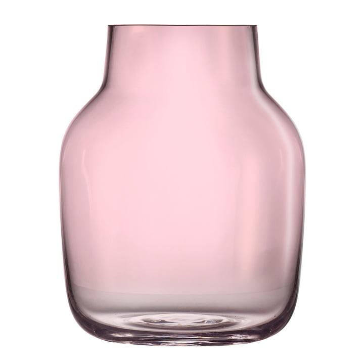 Silent Vase groß von Muuto in Rosa