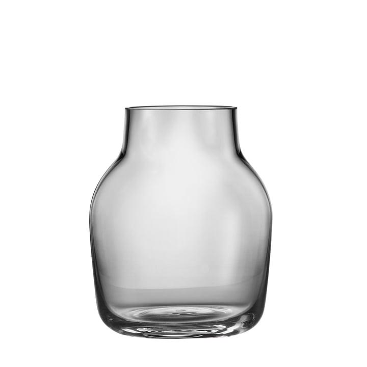 Silent Vase klein von Muuto in Grau