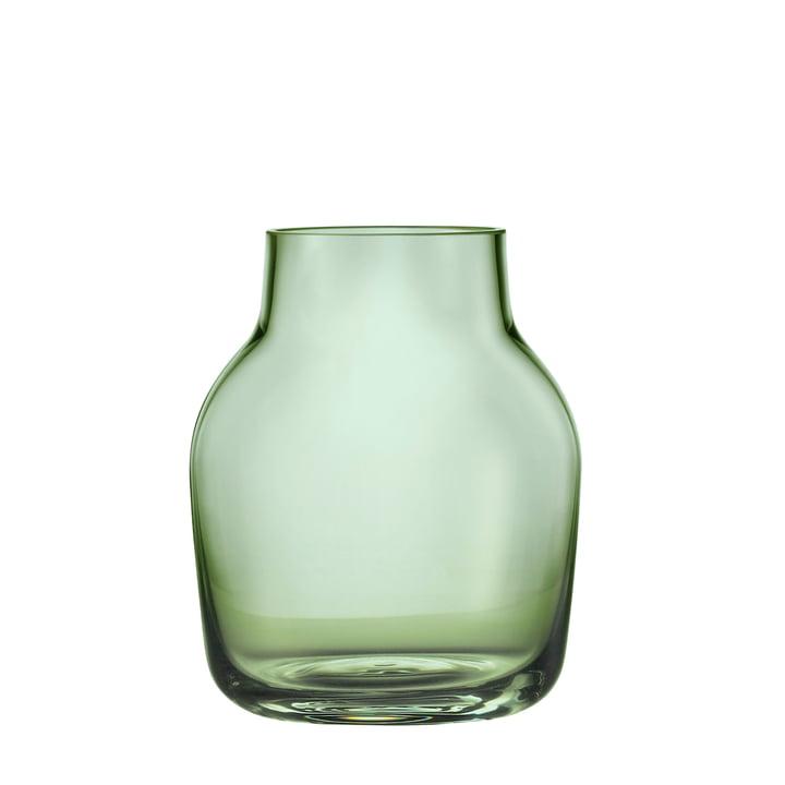 Silent Vase klein von Muuto in Grün