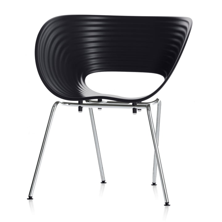 Vitra - Stuhl Tom Vac, basic dark