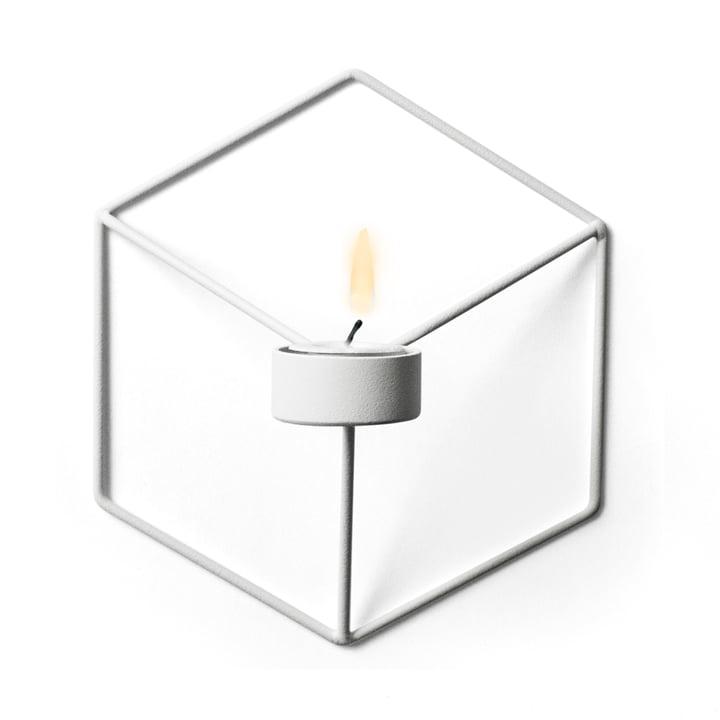 Menu - POV Wand-Teelichthalter, weiß