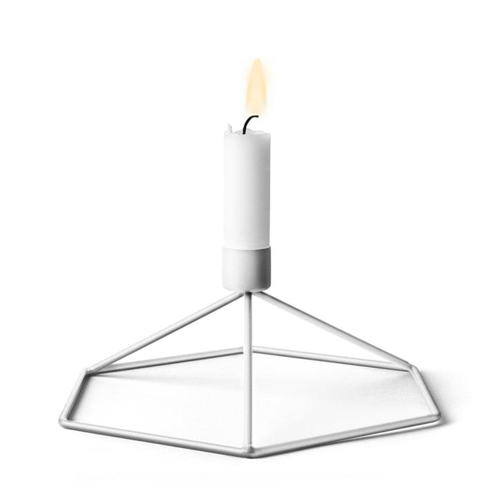 Menu - POV Tisch-Kerzenhalter, weiß