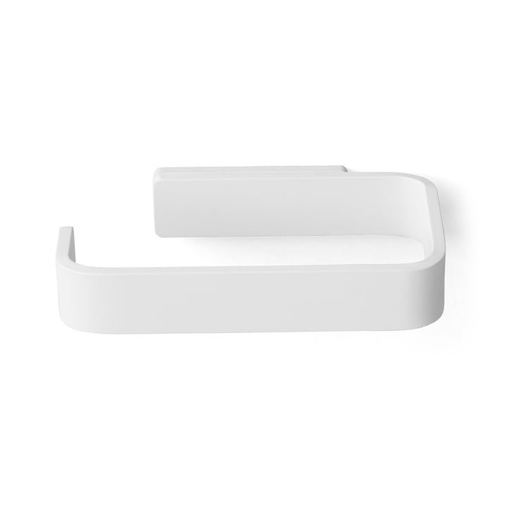 Menu - Toilettenpapierhalter, weiß - oben