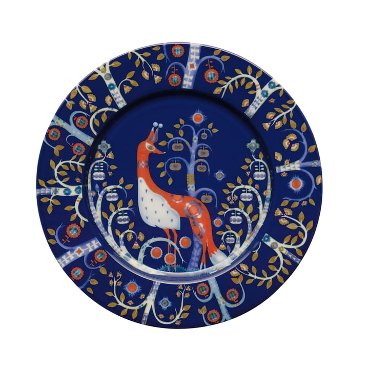 Iittala - Taika - blau - flacher Teller, Ø 22 cm