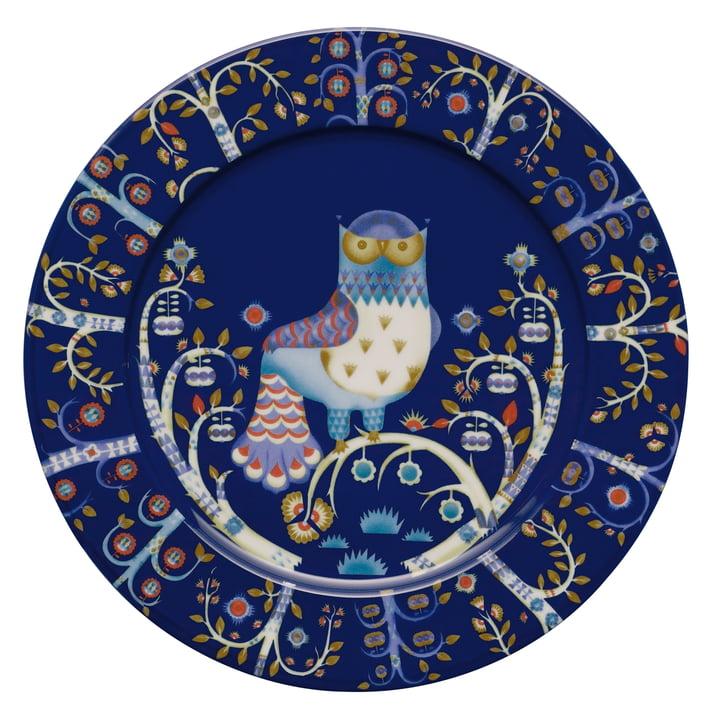 Der Taika flacher Teller von Iittala in blau, Ø 30 cm