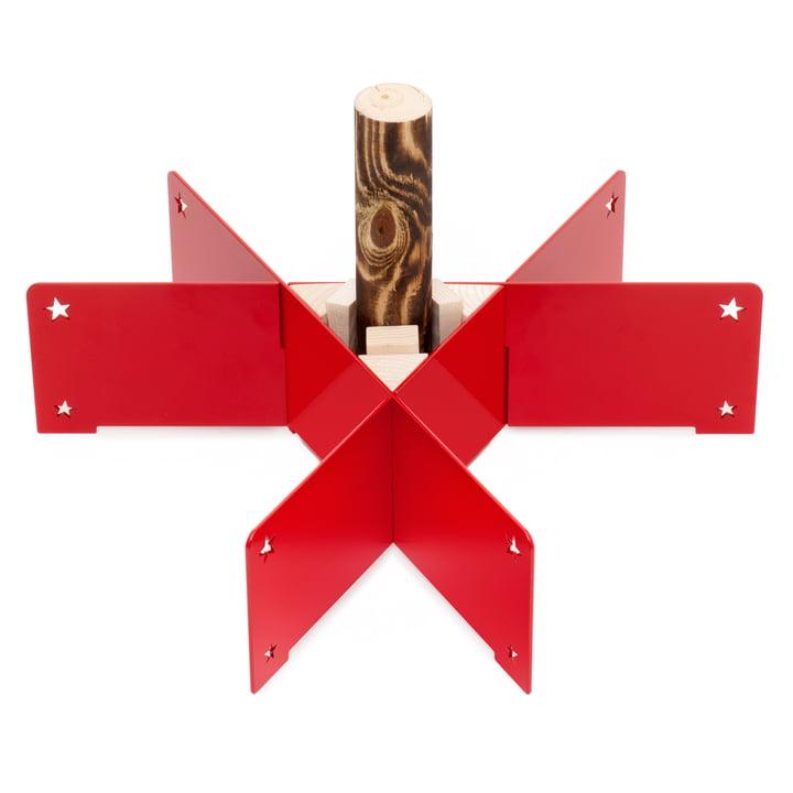 Keilbach - Halleluja Christbaumständer, rot